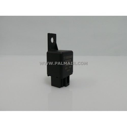 RELAY 4 PIN -12V 30A W/BRACKET