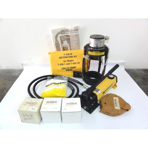 CRIMPING MACHINE T450-65 WEATHERHEAD -PORTABLE