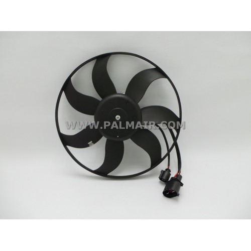 VOLKSWAGEN GOLF '09 LEFT SIDE FAN ASSY