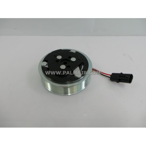 SD 7H15 CLUTCH ASSY 8PK 119MM -12V