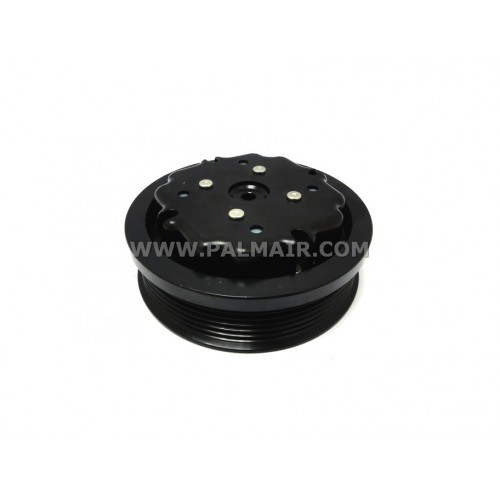 ND 7SEU17C CLUTCH-LESS PULLEY ASSY 6PK 115MM