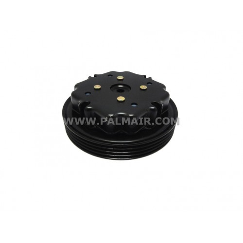 ND 6SEU12C CLUTCH-LESS PULLEY ASSY 4PK 112MM