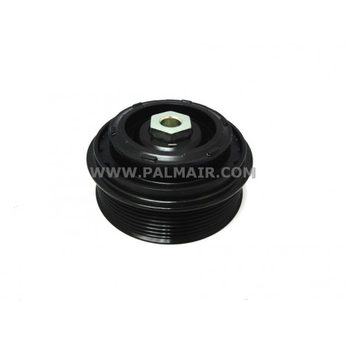 ND 6SEU16C CLUTCH-LESS PULLEY ASSY 7PK 105MM