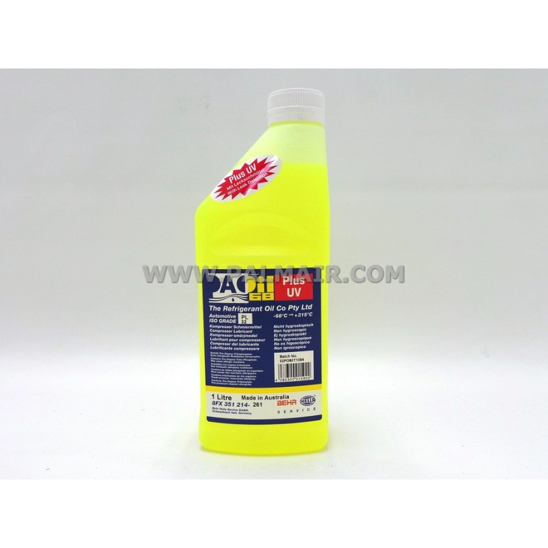 BEHR COMPRESSOR OIL 1 LTR WITH UV