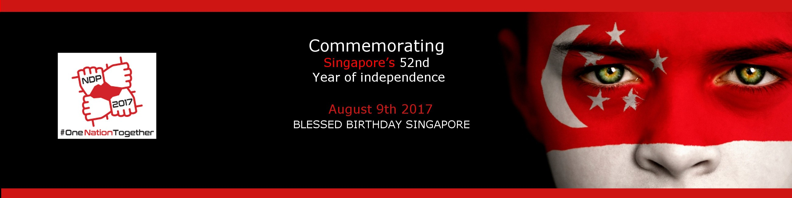 Singapore's 52th Birthday